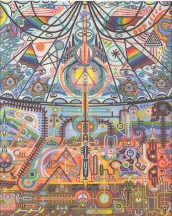 1P-LSD 150mcg Art Blotters