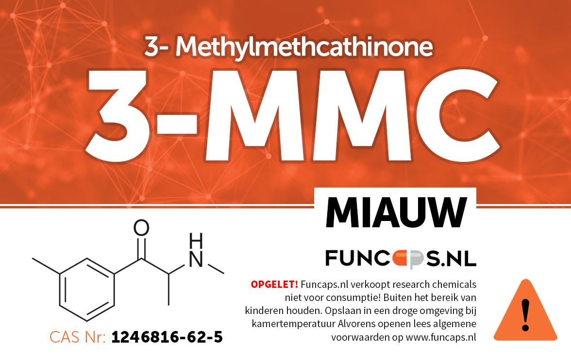 3-MMC MiauwMiauw Funcaps