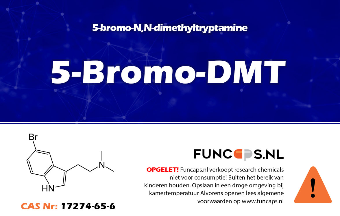 5-Bromo-DMT Funcaps