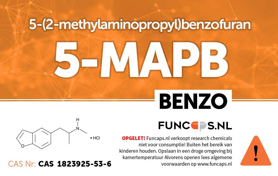 5MAPB (Benzo) Funcaps