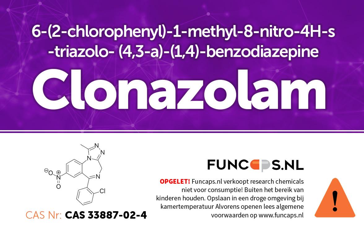 Clonazolam Funcaps